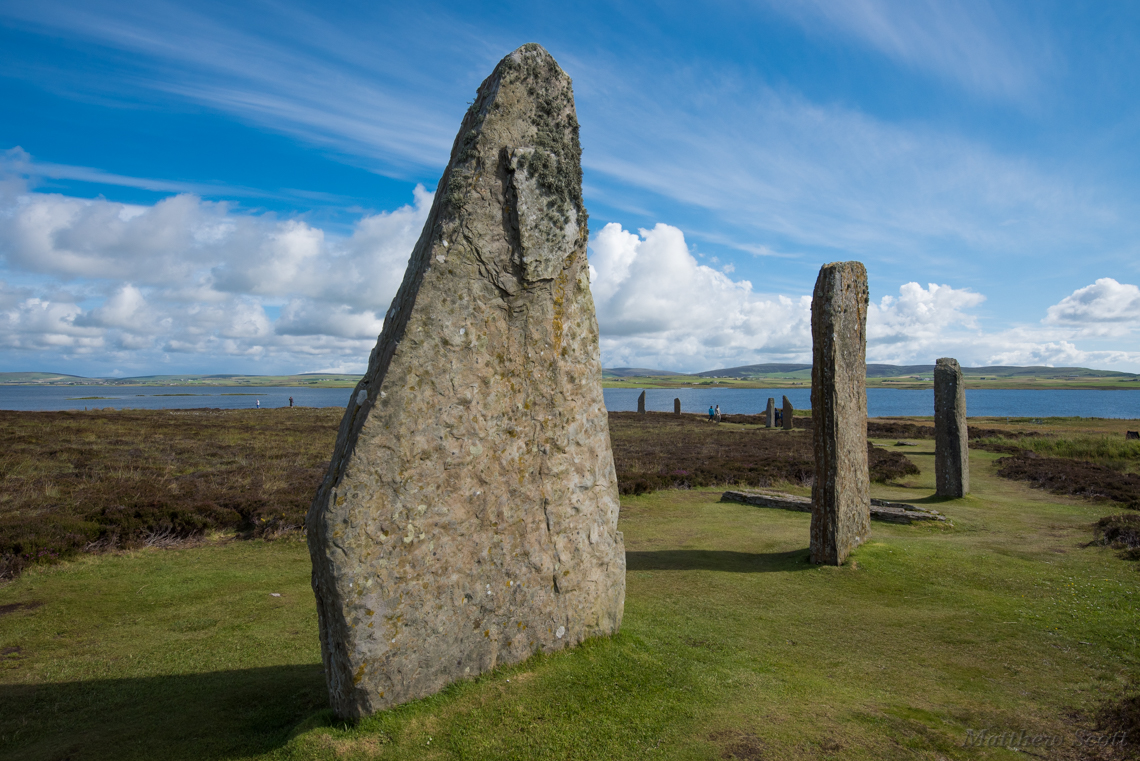 Ring of Brodgar, 5000 years old, Orkney Mainland, Scotland